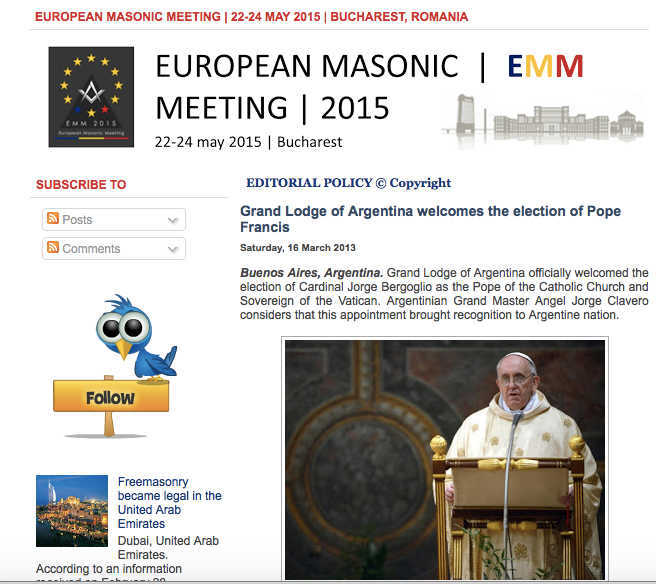 Pope-Freemasons